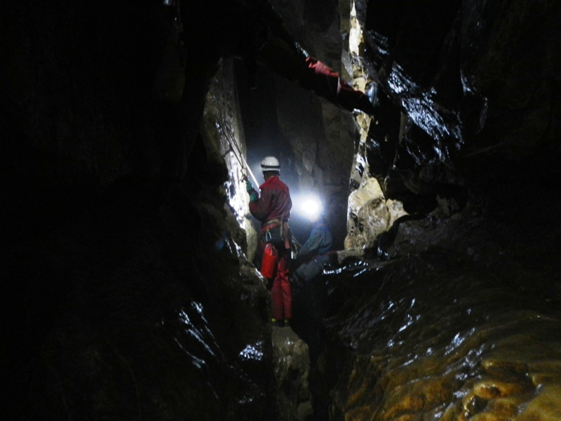 ...i inne partie Gaping Gill